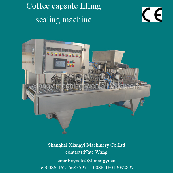 starbucks coffee capsule filling sealing machine