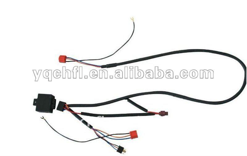 h4 cer u00e1mica conector de cableado  bulbo auto cableado