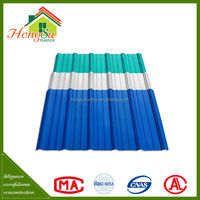 Good quality 2 layer fire resistance plastic types for roof