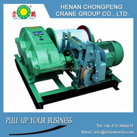 Large Tonnage ELectric Cable Pulling Winch Machine