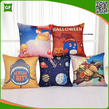 2017 The latest Design Hot Selling Pillow Cover Halloween Decor Funny Cushion