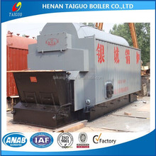 Factory price horizontal industrial wood pellet/rice husk fuel steam boilers