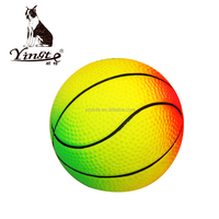 Yangzhou Yingte cute rubber pet toy colorful tranning ball toy ball