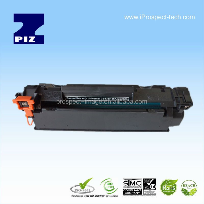 New build BK Compatible full toner cartridge Universal 35A/36A/388A long life time laser cartridge toner HP