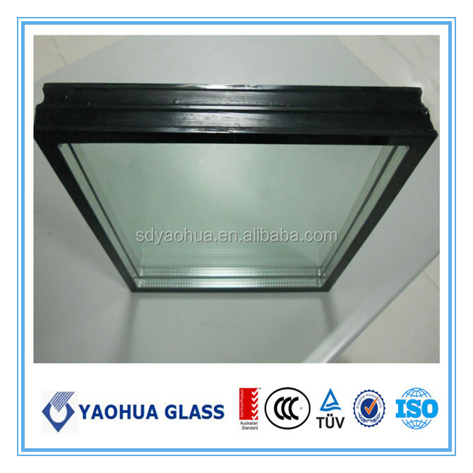 AS/NZS high quality low e double glazing insulated triple glazed building glass