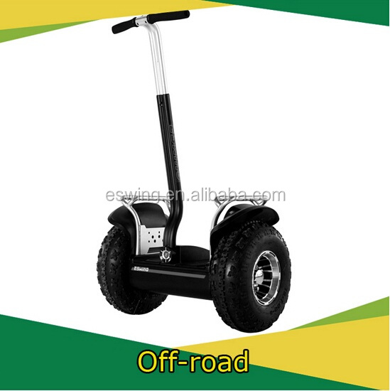 2015 2-wheel standing self-balancing 1500 brushless electric scooter