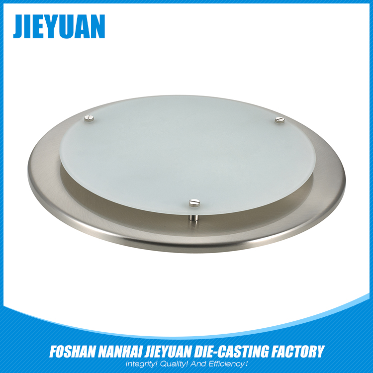 Round die cast cob led downlight shell without led