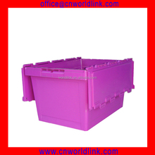 Office Use 50kgs Stackable Plastic File Box with Lid