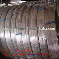 High Tensile Hot Dipped Galvanized Oval Wire in Brazil, Uruguay ,Chile, Argentina , Columbia