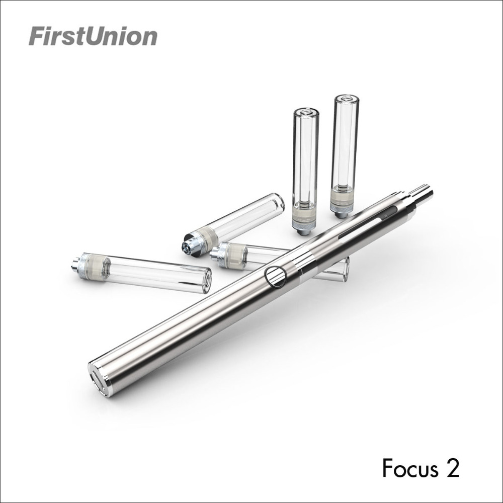 First Union newest ecigarettes prefilled tank Focus 2 ego battery 650mah ego electronic cigarette