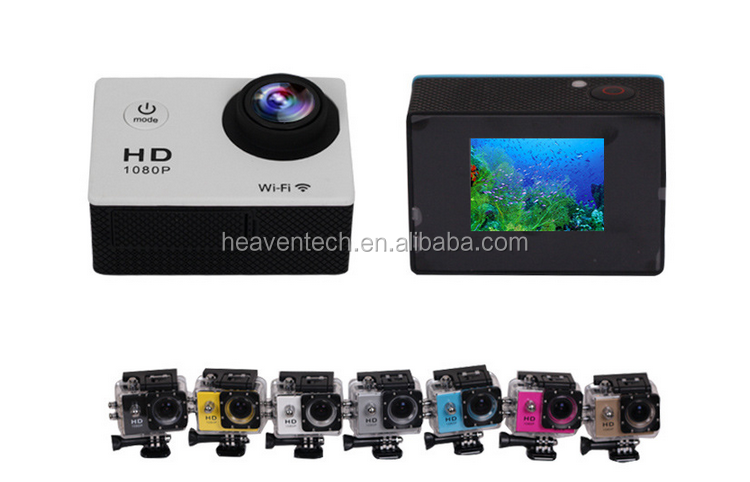 EXPLOSION SALES SJ 4000 WIFI 1080P full hd waterproof mini wifi sports camera , wide-angle fisheye SPORTS DV
