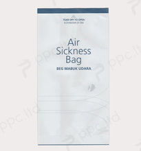 Disposable offset paper waterproof of 24 hours air sickness/vomit bag