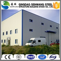 Used construction design steel structure warehouse