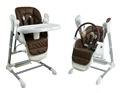 Hot selling baby high chair swing with baby high chair and baby swing function