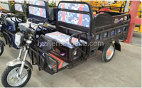 800w battery operated cargo rickshaw electric tricycle