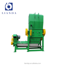industrial plastic pp pe film crusher grinding machine