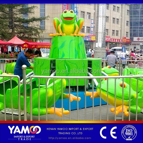 china amusement park rides family rides frog jumping/bounce frog YM-JP-001