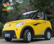 chinese 2 seat vehicle left hand drive battery powered electric car for adult