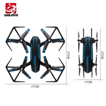 2018 newest rc toy SJY-8809W 2.4G 4CH foldable drone with 720P wide angle wifi camera height set quadcopter PK JJRC H43HW