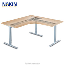 3 segments height adjustable desk frame for office standing desk