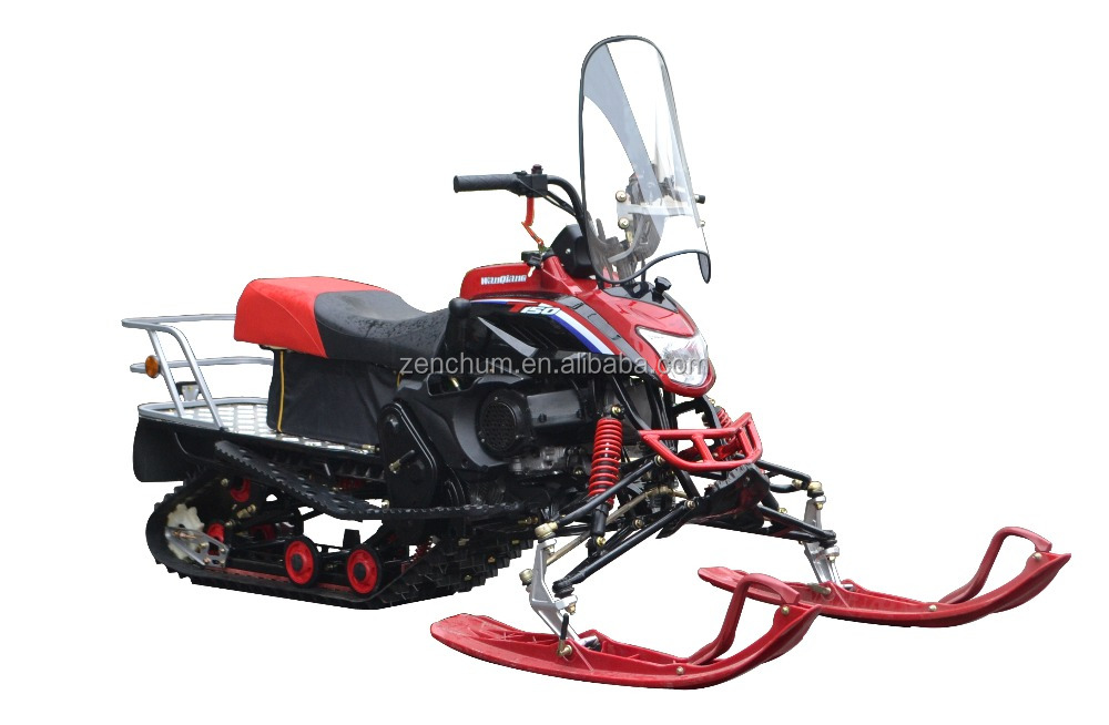200cc Automatic and Electric Start Chain Drive T200 sports / utility Skidoo Snowbike Snowmobile