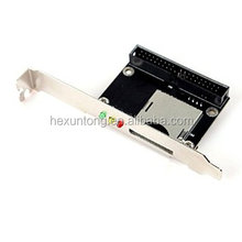 "SD TO 3.5""IDE 40-Pin Male IDE To SD MMC Card Adapter with baffle"