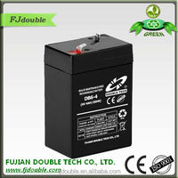 Rechargeable Exide 6v 4.2ah lead acid battery for ups use
