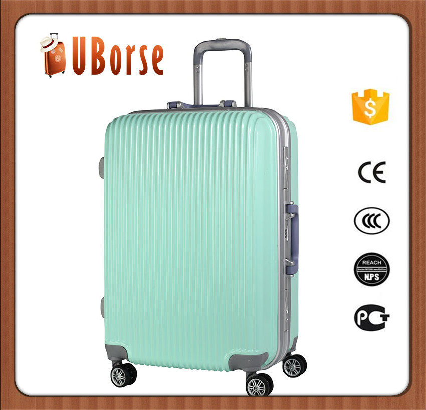 20'' Cheap Price Hardside Abs Valise For Sales Promotion Green