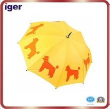 7 ribs black rain umbrella