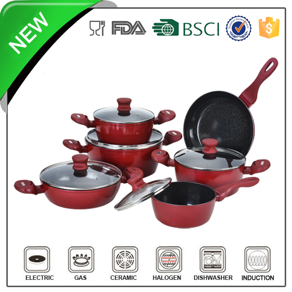 stainless steel cookware pot handles