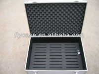 small print aluminum tool case,hard aluminum case with coins storage case