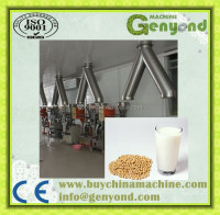 complete flavored soy milk processing plant / soymilk making machine