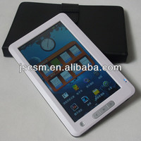 shenzhen top manufacturer! 7 inch ebook reader touchscreen style with good quality made in china factory