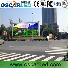 P20 government project street round led big video screen