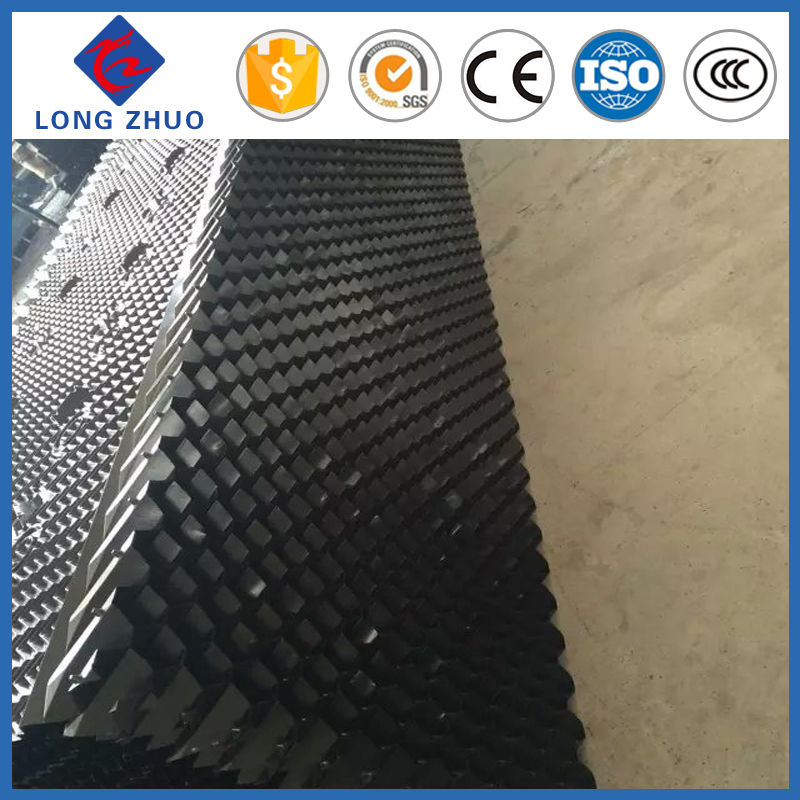 Cooling tower infill block, hanging type cooling tower fill, wave depth 19mm FRP cooling tower fill