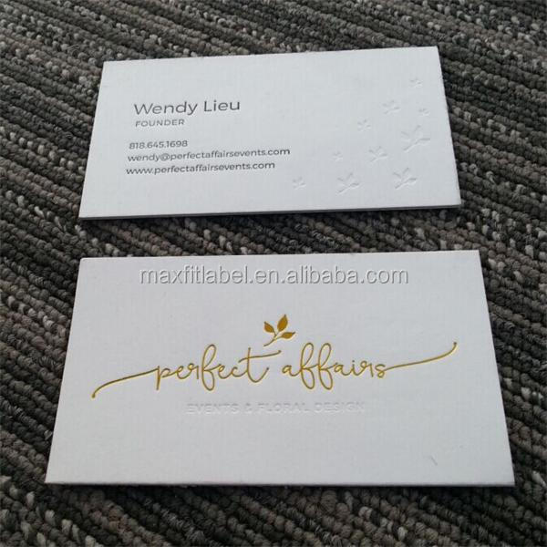2017 Customized high-end fashion business card