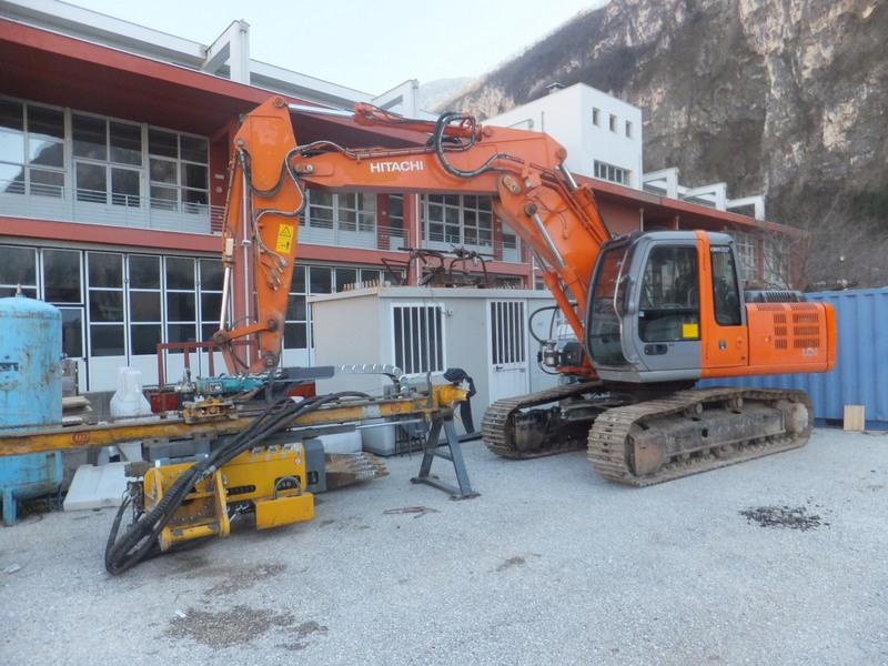 Excavator Mounted Drilling Rig - 297