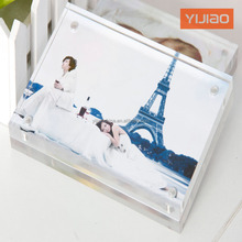 Home Decoration Acrylic Picture Frame Clear Sign Holders For desktop