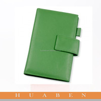 Huanben 2016 leather notebook/diary with lock