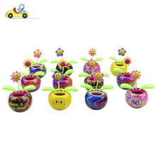 flip flap solar flower toys many styles artificial flowers souvenirs andsolar powered toys/ solar powered desk toy/ shaking toys