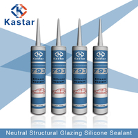 Assessed Supplier transparent structural silicone sealant for windshield