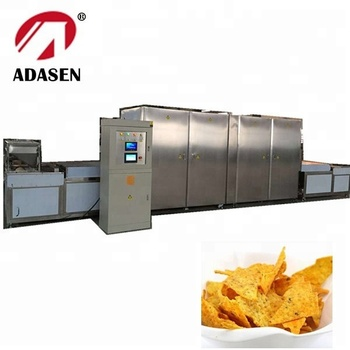 China supplier industrial microwave drying machine for doritos corn chips