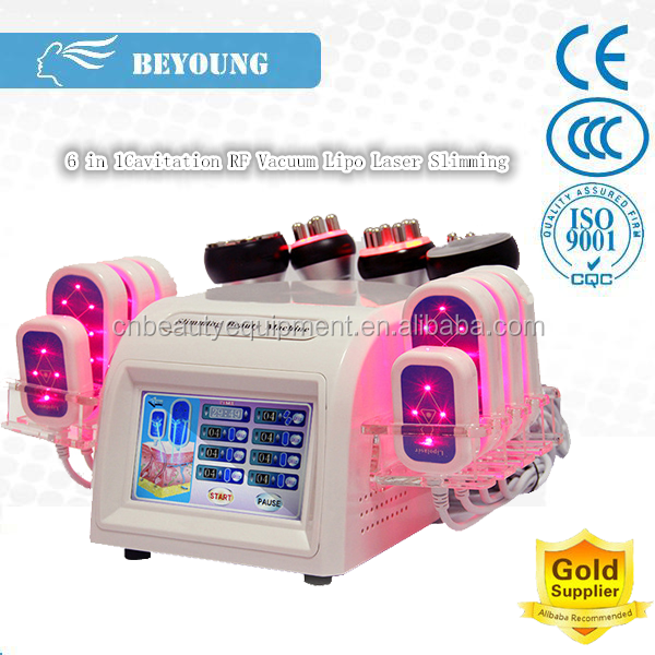 RS08D RF Vacuum Cavitation Slim Equipment Lipolaser Weight Loss Fat Melting Machine