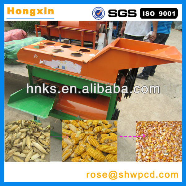 2017 China supply corn peeler/sweet corn processing machines/automatic corn peeling and threshing machine