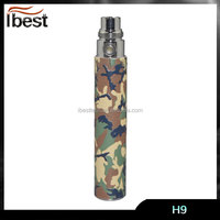 Ibest beautiful leopard print wholesale ego battery free logo printing ego twist changeable voltage battery ego c twist battery