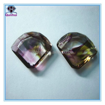 parachute colorful glass cubic zirconia jewelry
