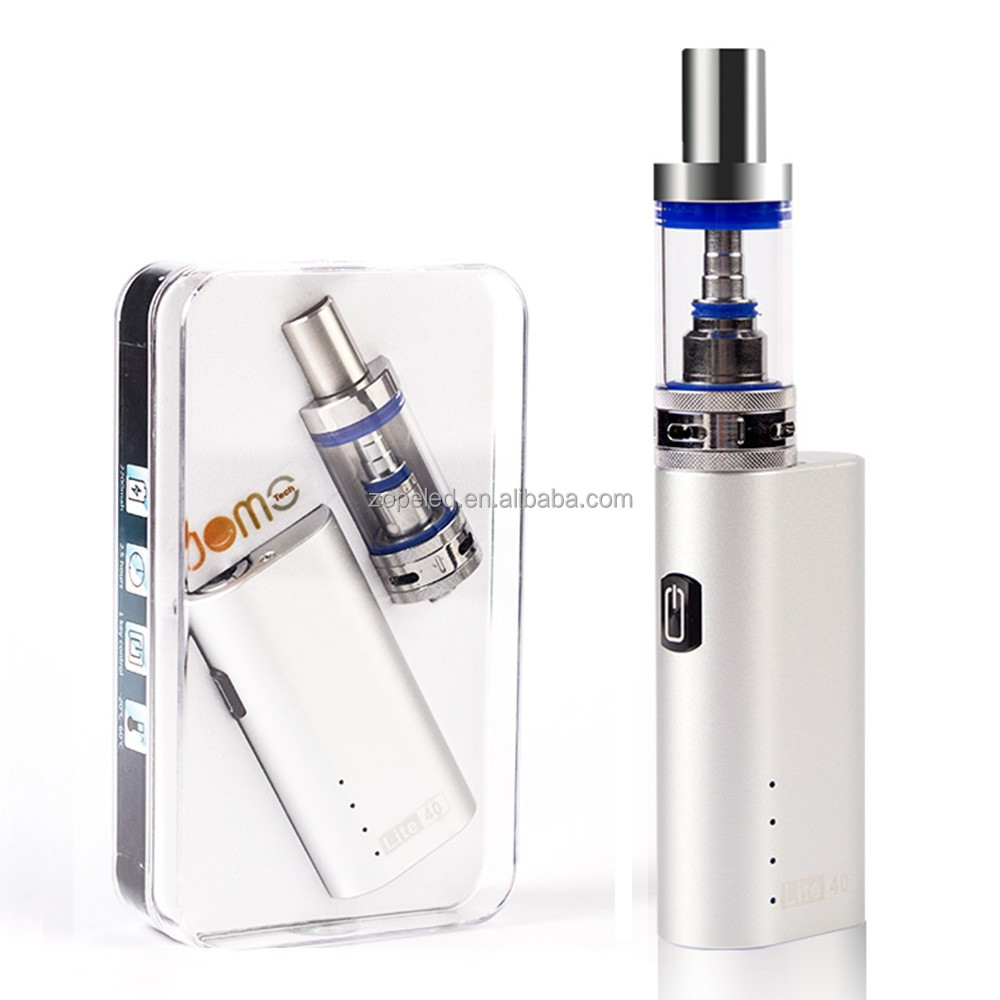 electronic cigarette manufacturer china jomotech lite 40 e cig 40w box mod kit