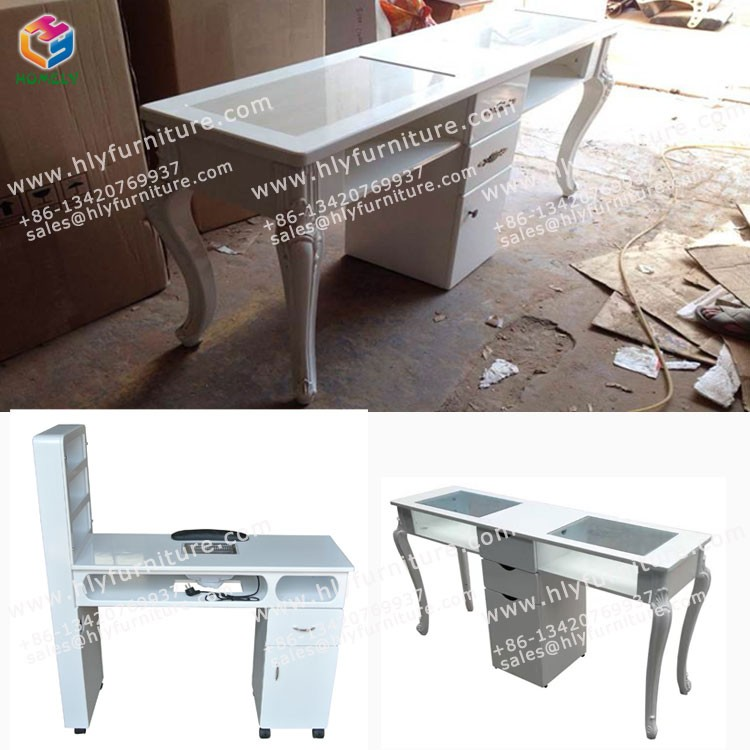 Good Quality and Hot Sale Manicure Nail Tables for Beauty Salon