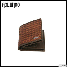 Latest design men importer of leather wallets