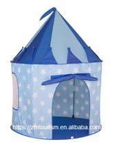 Boy & Girls Pink Princess Castle Play Tent, Children Play Tent for Girls, Glow in the Dark Stars